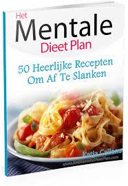 mentale dieet plan