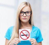 aankomen stoppen met roken