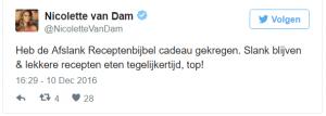 Afslank recceptenbijbel Nicolette van Dam
