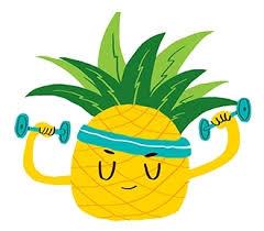 ananas helpt bij afvallen