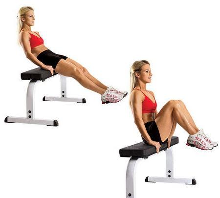 oefeningen benen afvallen