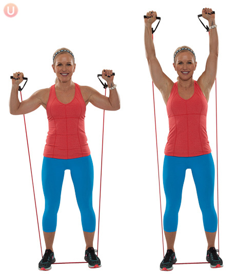 afvallen met sporten #9 Shoulder press
