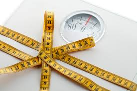 Bio HCG gewichtsafname op weegschaal
