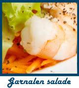 Bio HGC garnalen salade