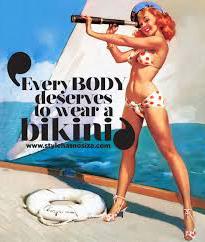 bikini klaar